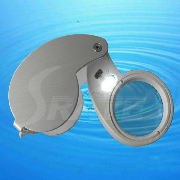40X Illuminated Jeweler's Loupe Magnifier with LED Light Affordable Price