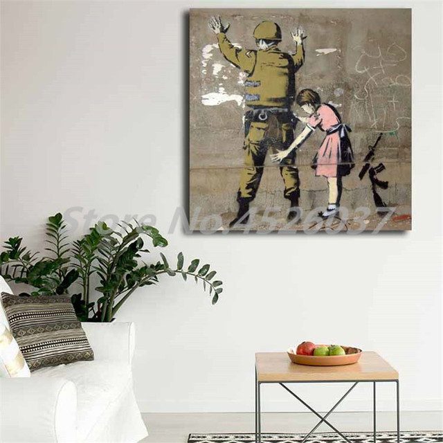 Bethlehem Wall Graffiti Wall Art Canvas Posters Prints Painting Wall Pictures For Modern Office Living Room Home Decor