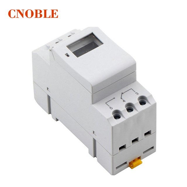 AC 220V Digital LCD Power Timer Programmable Time Switch Relay 16A GOOD temporizador Din Rail AHC15