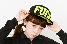 Fuck letter hiphop cap flat brim baseball cap female spring and summer hat flat cap women's men's visors free shipping