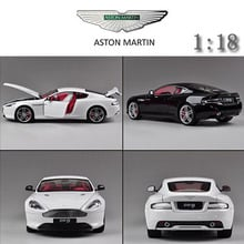 1:18 AstonMartin DB9 edition alloy model car kids toys children Christmas gift car Decorate\collect Simulation