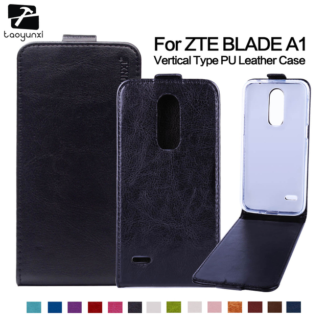 TAOYUNXI Luxury Flip PU Leather Phone Case For ZTE Blade A1 C880A C880U C880S C880 5.0 inch Housing Bag Covers Magnetic Shell