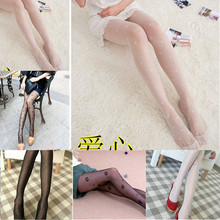 New 2019 Pantyhose Tights Pattern Fashion Jacquard Stockings Women Lady Sexy Fishnet Black For Summer Spring Patry Gifts