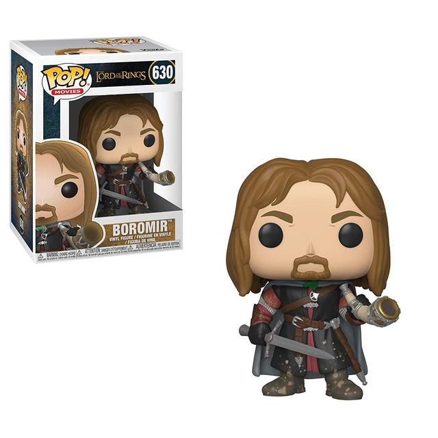 Official Funko pop Movies: Lord of The Rings - Boromir Vinyl Action Figure Collectible Model Toy with Original Box