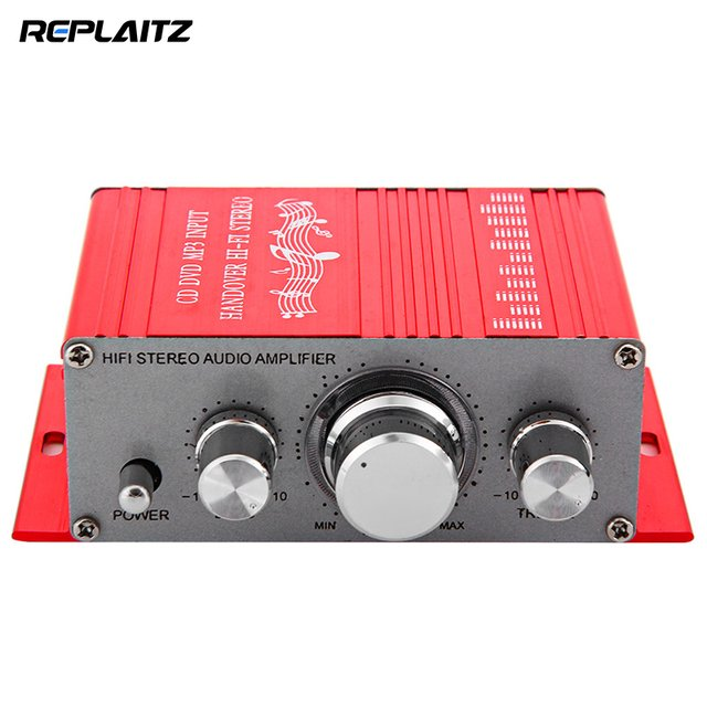 New Mini Hi-Fi Stereo Power Car Amplifier Sound Mode Auto Audio FM Radio Music Player Support CD DVD MP3 for Car Motorcycle
