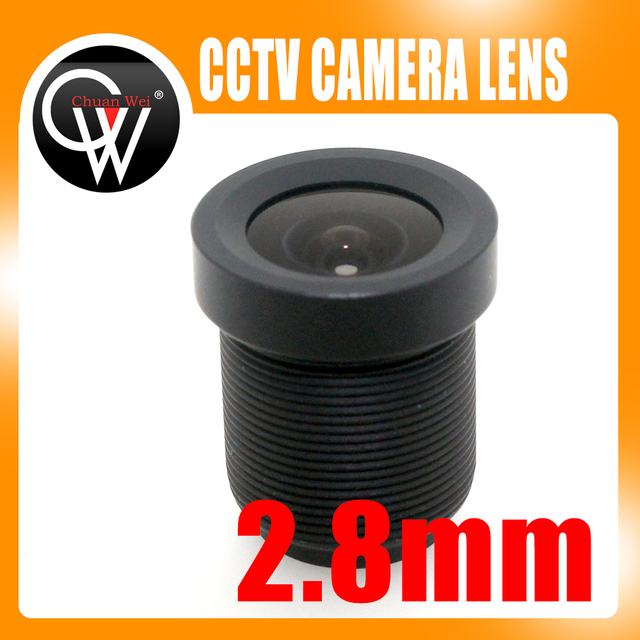 New 2.8mm CCTV Lens 115 Degrees Fixed Board Camera LENS For CCTV Security Camera Free Shipping