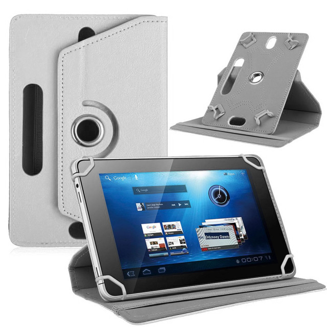 """Myslc For Irbis TZ747 TZ771 TZ790 TZ721 TZ777 TZ724 TZ792 TZ751 TZ788 TZ713 7"""" 360 Rotating Universal Tablet PU Leather case"""