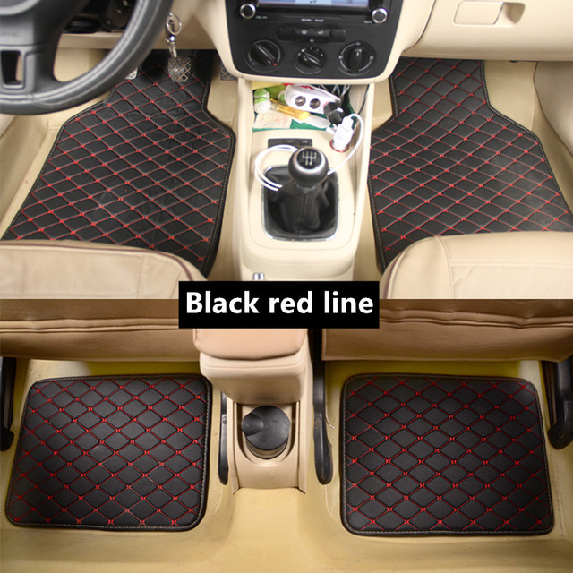 Universal car floor mat For fiat 500x freemont palio 500l albea panda car accessories waterproof carpet rugs car carpet