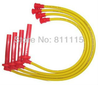 Spark Plug high-voltage ignition wire set for VW Jetta 5 Valves, ignition cable, Sub-cylinder line, free shipping!!