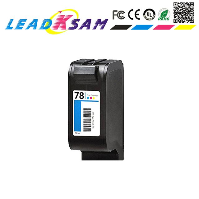 78xl remanufactured Ink Cartridge for 78 Color cartridge compatible for hp78 1180c 1220c 1280 1600c 6122 Printer