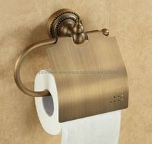 Antique Brass  Toilet paper Holder Wall Mount Toilet Tissue Paper Holder Bathroom Roll Paper Holder Bba079