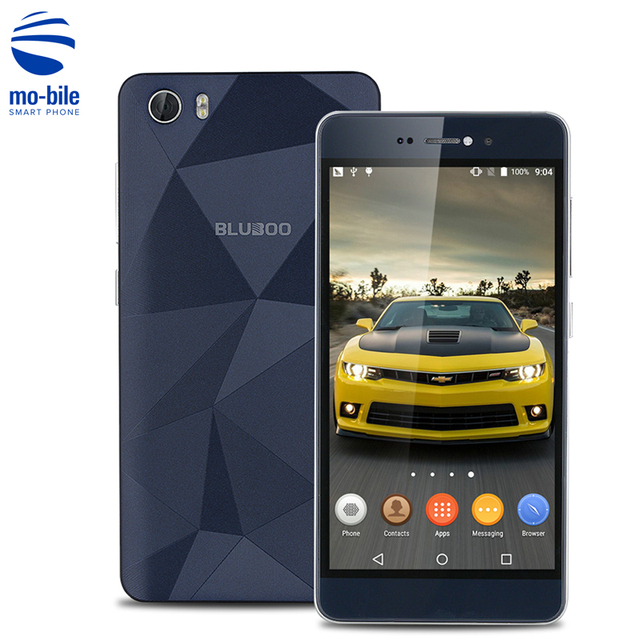 Original BLUBOO Picasso Android 6.0 MTK6735 Quad Core 4G Cell Phone 5.0 Inch HD Screen Mobile Phone 2G RAM 16G ROM Smartphone