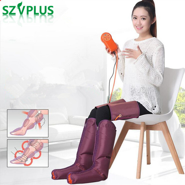 Air Compression Leg Wraps Regular Massager arm waist Foot Ankles Calf Therapy Circulation Healthcare Compression leg massager