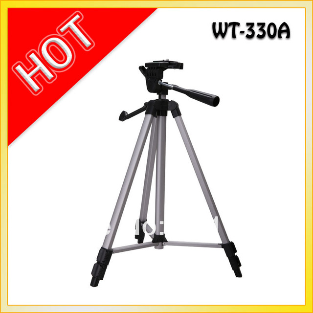 wt-330a  tripod with portable bag for  profession tripod carbon tripod for camera for free shipping