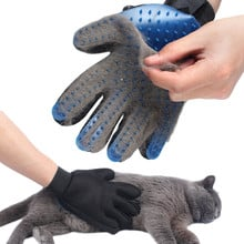 Pet Glove For Cats Cat Grooming Pet Dog Hair Deshedding Brush Comb Glove For Pet Dog Finger Cleaning Massage Glove For Animal