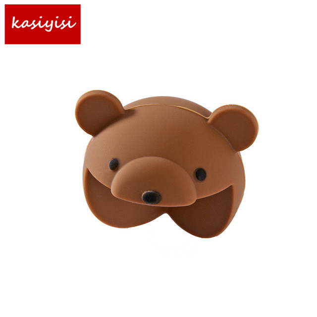 2Pcs/Lot Cartoon Silicone Child Baby Safety Protection Table Corner Furniture Edge Protector Cover Edge Guards Anticollision