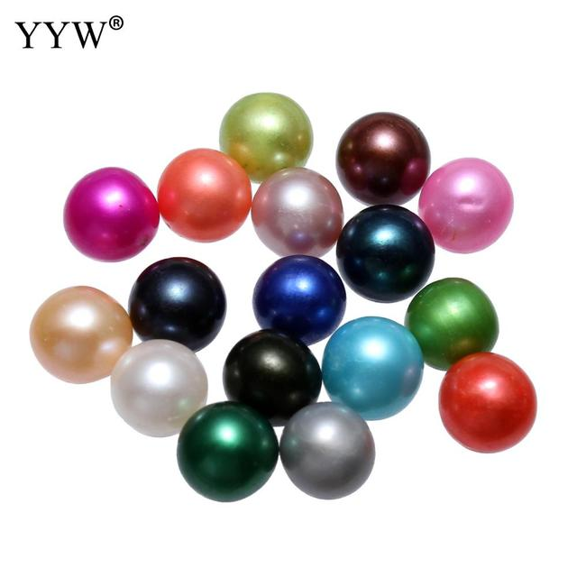 19 Colors 7-8mm Dyed Pearl Beads Women Cultured Potato Freshwater Pearl Beads For Making diy Fashion Jewelry Bracelet Necklace