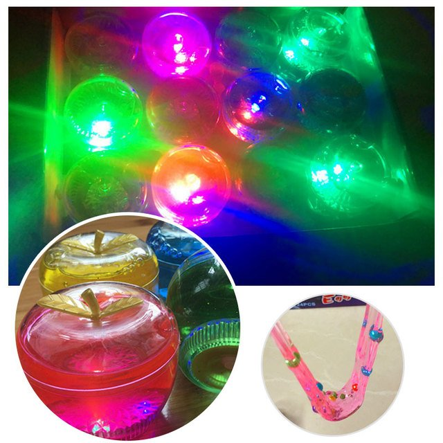 Clear Slime Fluffy Toys Electricity Creative Foam Slime Toys Decor Multicolor Luminous Crystal Mud Pate slime gum For slime