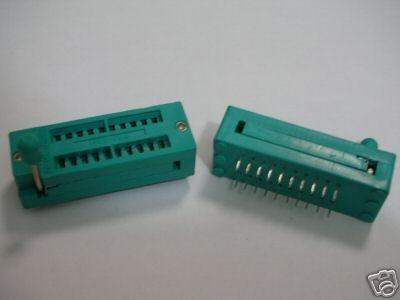 20 PIN  UNIVERSAL ZIF TEST DIP IC Chassis SOCKET