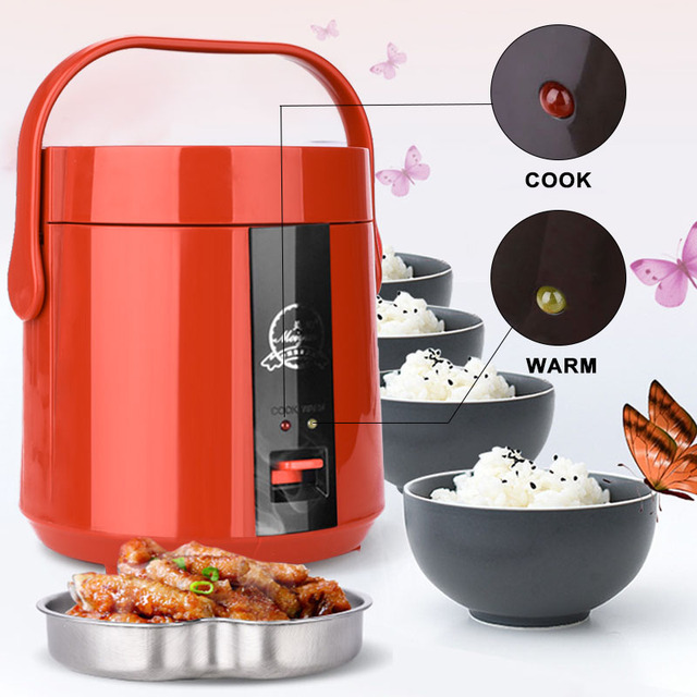 2019 Drop Shpping Meiyun Heating Lunch Box Mini Rice Cooker Multifunctional Portable Real Egg Electric Cooker