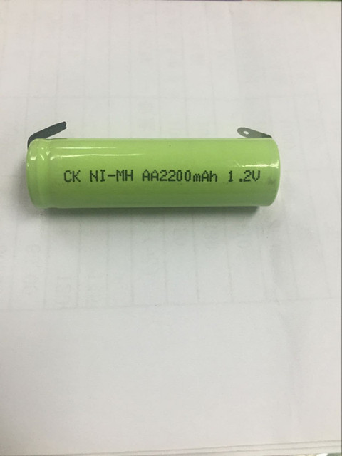 FLYCO Shaver Rechargeable Battery 1.2V AA2200mAh fs320 fs325 FS812 suitable for FS330 Rechargeable Li-ion Cell
