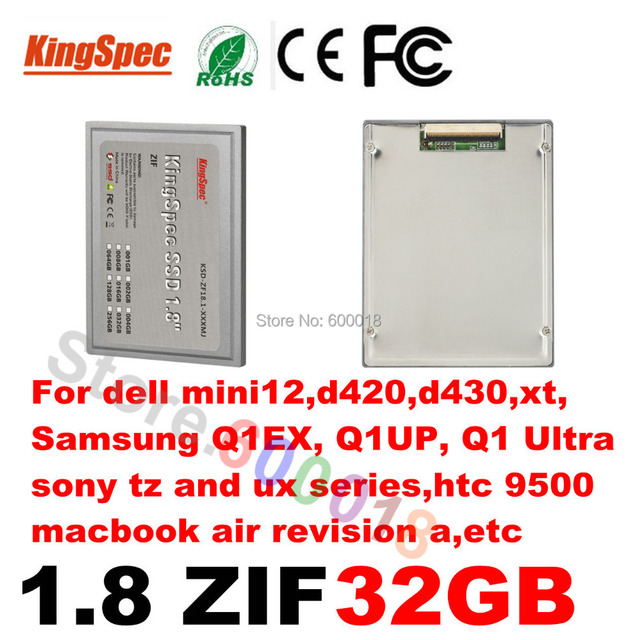 """L Kingspec 1.8 """" inch ATA7 ZIF CE HD SSD Disk Hard Drive Disk Solid State Drive 32GB Internal Hard Drives Computer Components"""