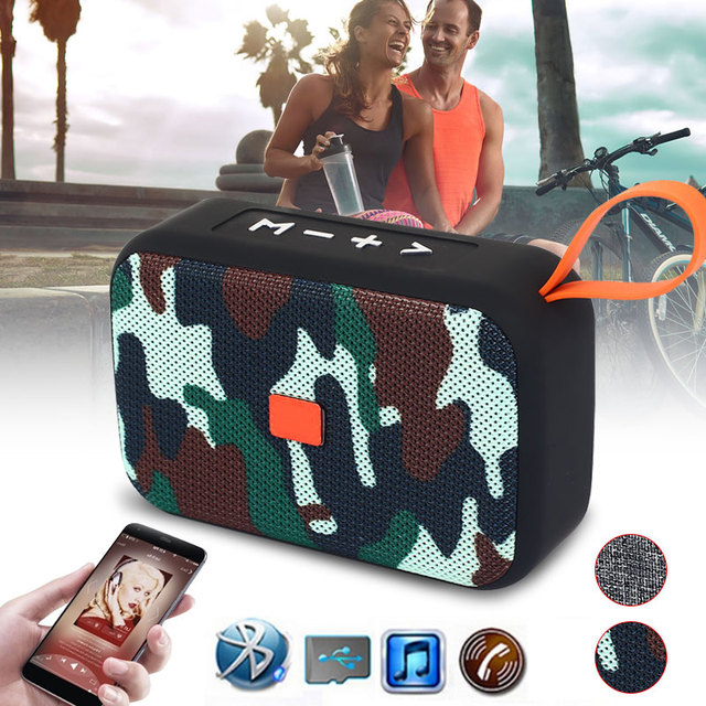 TF Card Support Wireless Speaker Bluetooth Speaker Driving Sport Mini LoudSpeake Durable Stereo for for IOS Android