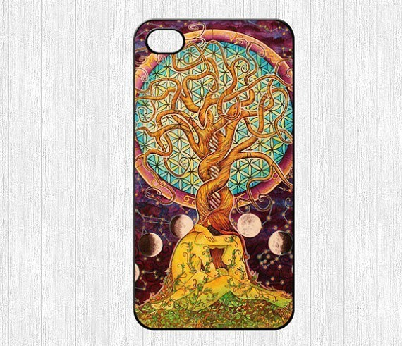 The latest act of love trees hugging lover Art Print Hard Plastic Cell phone Case for iphone 4 4s 5 5s 5c 6 6s 6plus 6s plus