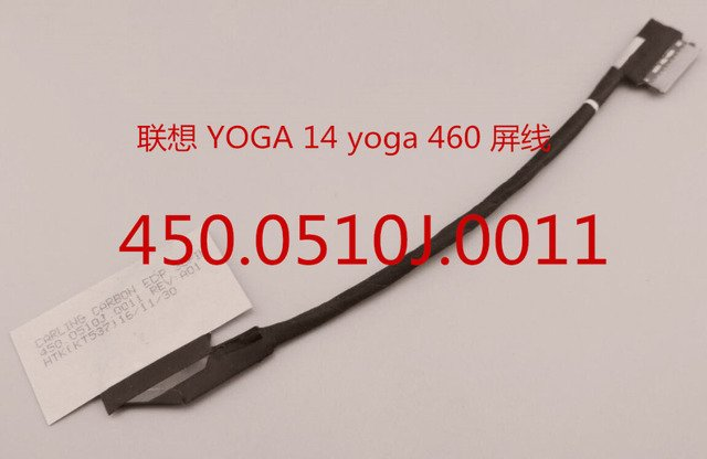 New Laptop LCD Cable for Lenovo YOGA 14 yoga 460 450.0510J.0011 01EP416 30pin LVDS EDP cable