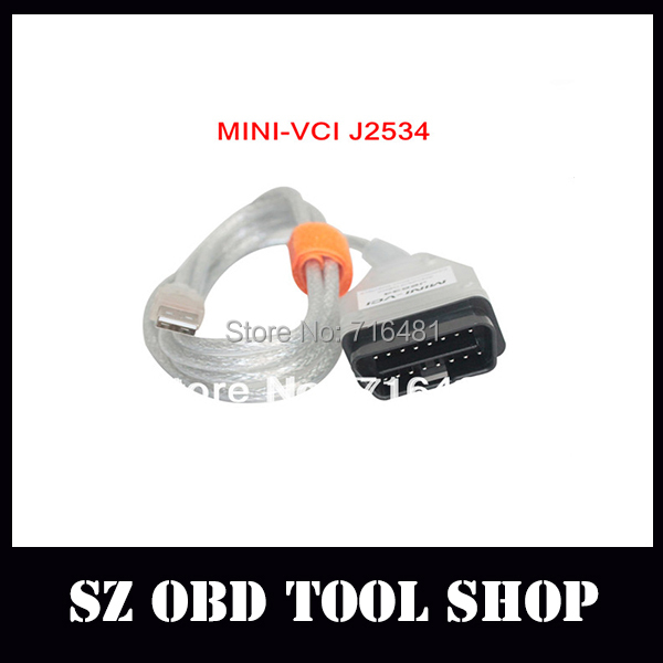 wholesale and retail toyota mini vci tis with latest version Tech stream 7.10.030 Techstream ----freeshipping