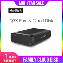 """Airdisk Q3X Mobile networking hard Disk USB3.0 NAS Family Network Cloud Storage 3.5"""" Remotely Mobile Hard Disk Box(NOT HDD)"""