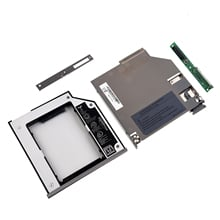 SATA 2nd жесткий диск HDD Bay Caddy адаптер для dell latitude D800 D810 D820 D830 серебро