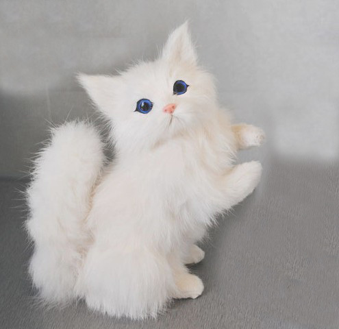 free shipping toy cats that look real cats for sale cat figurines