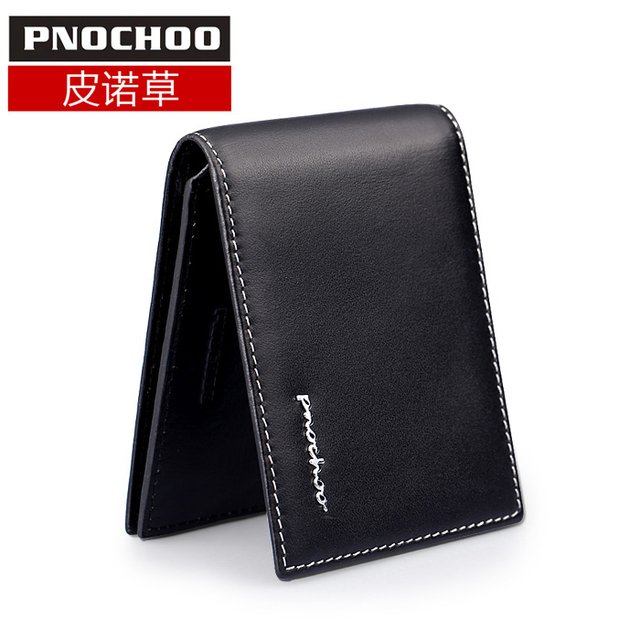 Pnochoo genuine leather quality commercial driver's license bag fashion personality multifunctional card case
