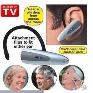 50%off Loud N Clear,Loud N And Clear Personal Sound Amplifier Hearing Aid Seen On TV