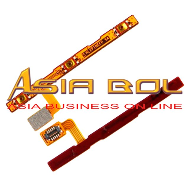 New Power On Off Volume Up Down Button Key Flex Cable Replacement Parts For Huawei Honor 6 plus