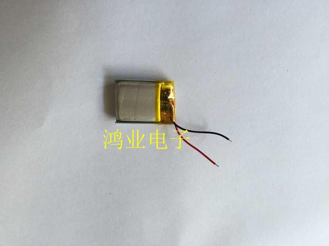 3.7V lithium polymer rechargeable battery 801725/081725 Bluetooth headset / equipment / micro etc. Rechargeable Li-ion Cell