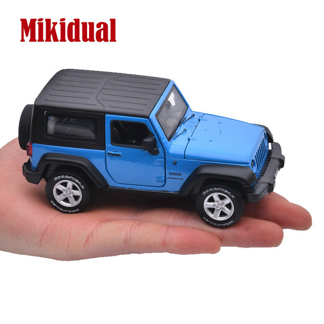 1:32 Alloy Diecast Electric Sound and light Pull back Cars Model Kids Vehicle Toys for Children Jeep Wrangler