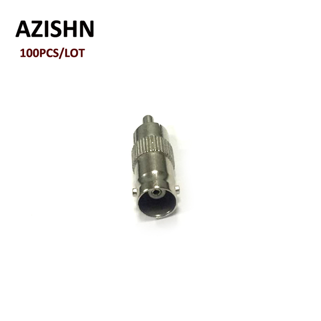 AZISHN 100pcs/lot  BNC female to RCA male jack adapter BNC Female to AV adapter BNC Female to Lotus for cctv camera