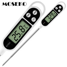 MOSEKO Hot Sale Digital Kitchen Thermometer For Meat Water Milk Cooking Food Probe BBQ Electronic Oven Thermometer Kitchen Tools