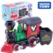 TAKARA TOMY Tomica Mickey Mouse Train Model Toy Diecast Metal Alloy Car Vehicle Model Gift For Children