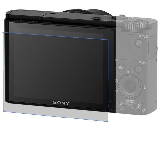 9H 2.5DTempered Glass LCD Screen Protector For Sony RX1/RX1R/RX1RII