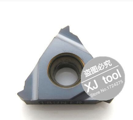 Free Shiping 16 ER 18 UN Indexable Tungsten Carbide Threading Lathe Inserts for Threaded Lathe Holder