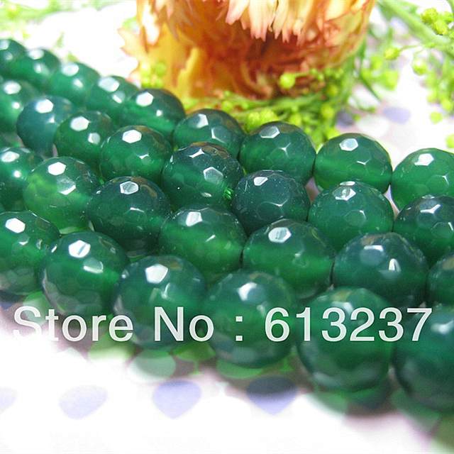 Green natural carnelian stone agat 4mm 6mm  8mm 10mm 12mm 14mm faceted round onyx loose beads high quality jewelry 15inch GE831