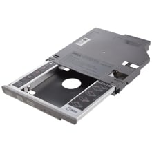 SATA 2nd жесткий диск HDD Bay Caddy адаптер для dell latitude D600 D610 D620 D630 серебро