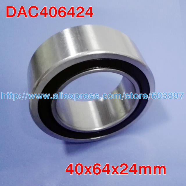 Angular Contact  40x64x24mm PC40640024 DA406424  Auto Double Ball Bearings Air Condtioner Compressor wheel hub 40mm shaft