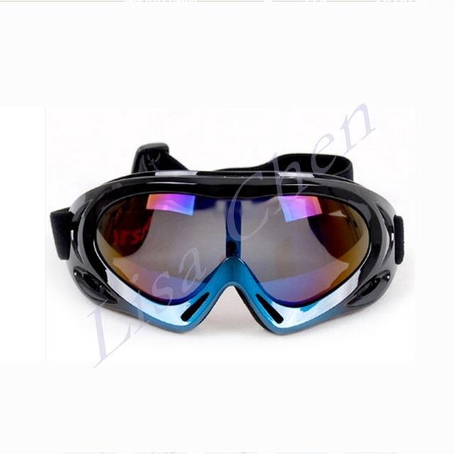 Professional outdoor riding windproof ski goggles ski mountaineering glasses anti-fog single lens windproof mountaineering