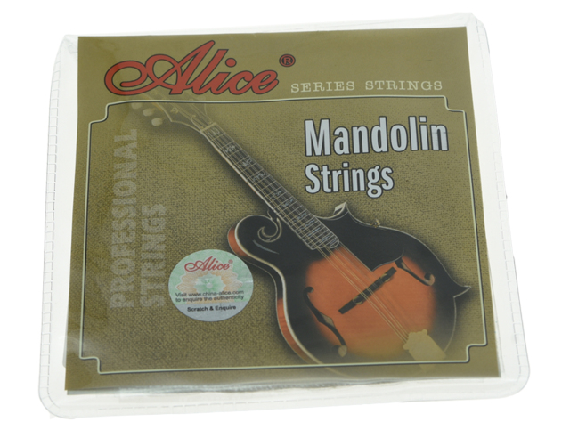 Alice Brand Plated Steel Mandolin Strings Coated Copper Alloy Wound String