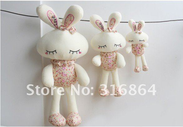 Wholesale and retails  plush toys 55cm rabbit soft toys stuffed toys Christmas gift factory supply freeshipping