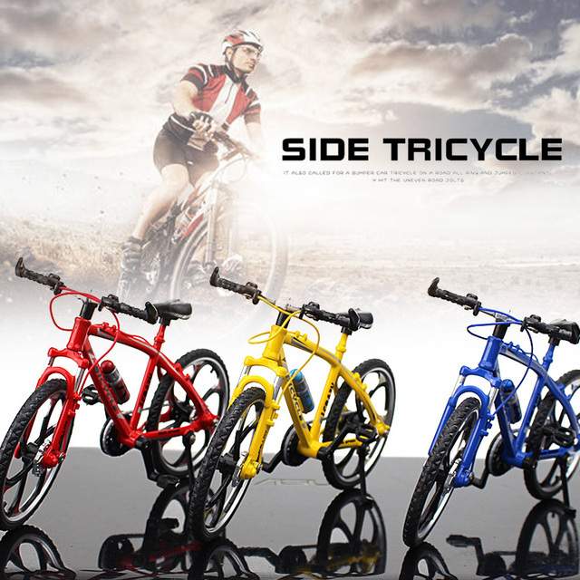 Bike Model Bicycle Collection Bike Toy Simulation Bicycle Alloy Multicolor Decor Safe Material Climbing Novelty Bike Collection